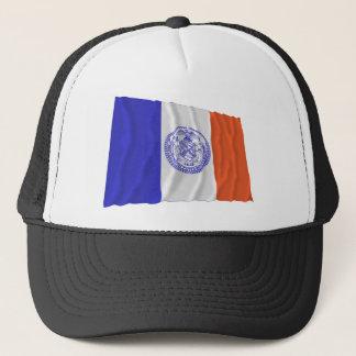 Boné Bandeira de ondulação da Nova Iorque