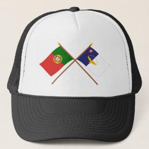 Boné Bandeiras cruzadas de Portugal e dos Açores bd34db4f1c52f