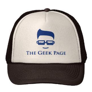 Boné básico do camionista da página do geek