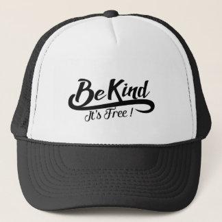 Boné Be kind it' s free