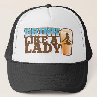 Boné Bebida como uma SENHORA! design