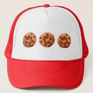 Boné Biscoito da microplaqueta do coração