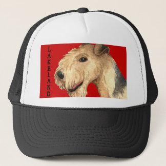 Boné Bloco da cor de Lakeland Terrier