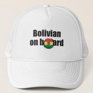 Boné Boliviano a bordo