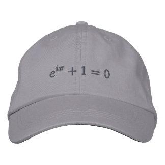 Boné Bordado Boné: A identidade de Euler bordada, pequeno,