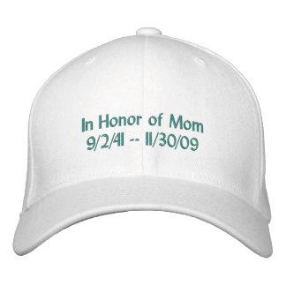 Boné Bordado Chapéu da relembrança do câncer de ovário