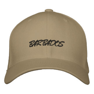 Boné Bordado Chapéu de Barbados