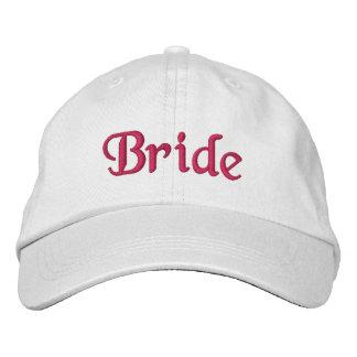 Boné Bordado Chapéu de basebol da noiva