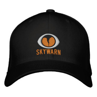 Boné Bordado Chapéu de SKYWARN