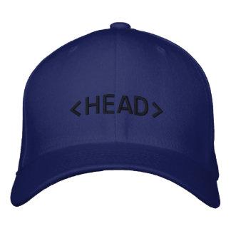 Boné Bordado Chapéu do HTML