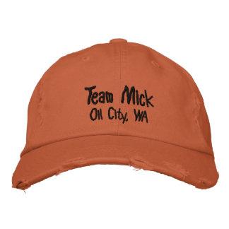 Boné Bordado Cidade do óleo de Mick da equipe, chapéu de WA