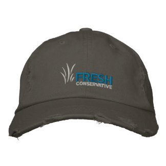 Boné Bordado Conservador fresco chapéu afligido