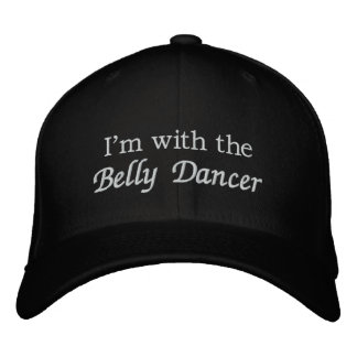 Boné Bordado Eu sou com o dançarino de barriga
