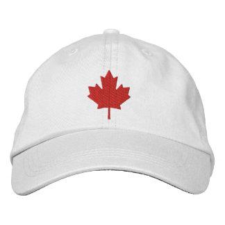 Boné Bordado Folha de bordo de Canadá
