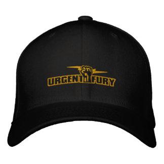 Boné Bordado Fúria urgente chapéu bordado
