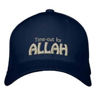 Boné Bordado Intervalo para Allah