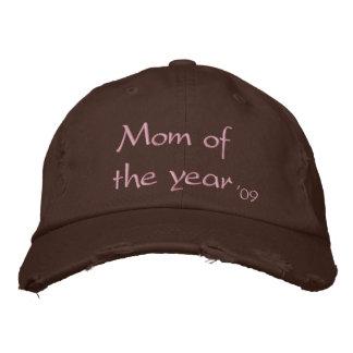 Boné Bordado Mamã do ano, '09