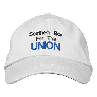 Boné Bordado Menino do sul para o chapéu da união