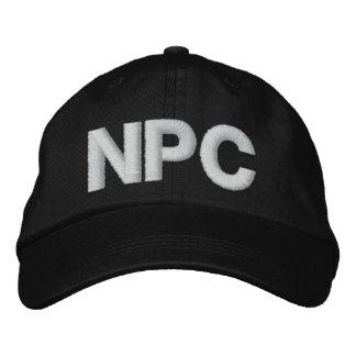 BONÉ BORDADO NPC