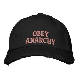 Boné Bordado Obedeça a anarquia