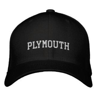 Boné Bordado Plymouth