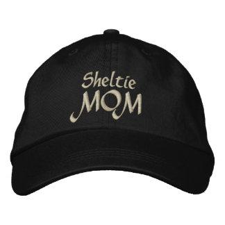 Boné Bordado Presentes da MAMÃ de Sheltie do Sheepdog de