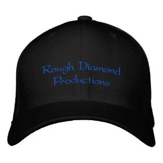 Boné Bordado Produções do diamante áspero