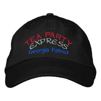 BONÉ BORDADO TEA PARTY EXPRESSO - GEÓRGIA