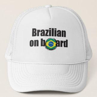 Boné Brasileiro a bordo