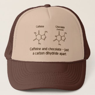 Boné Cafeína e chocolate