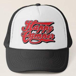 Boné Campista feliz em Red Hat