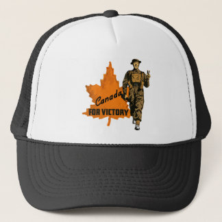 Boné Canadá para a vitória
