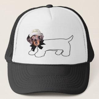 Boné Cão autógrafo da noiva do Dachshund