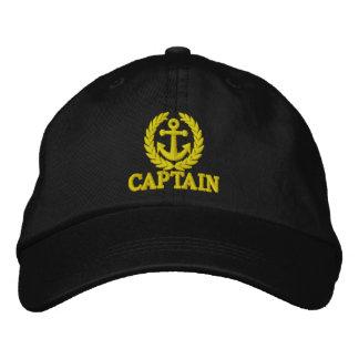 Boné Capitão com motivo da âncora dos marinheiros