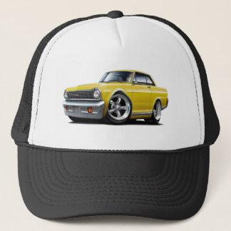 Boné Carro 1964-65 amarelo da nova