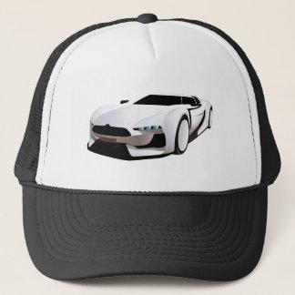 Boné Carro desportivo branco