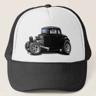 Boné carro do preto do hot rod dos anos 30