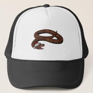 Boné Cascavel com chapéu do papai noel
