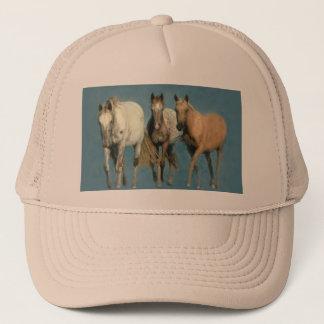 Boné Cavalos selvagens e chapéu maravilhoso