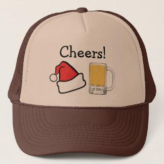 Boné Cerveja engraçada do papai noel dos elogios do