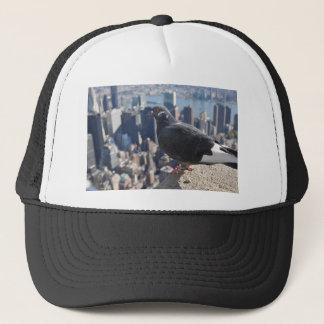 Boné Céu de Manhattan EUA da Nova Iorque do pássaro