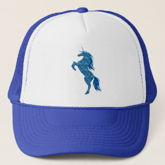 Boné Chapéu azul do unicórnio do fogo