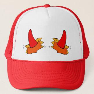 """Boné """"Chapéu bonito do camionista do diabo pequeno"""""""