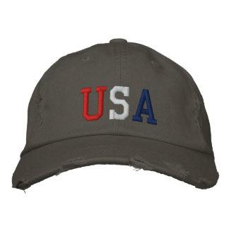 Boné Chapéu bordado dos esportes dos EUA