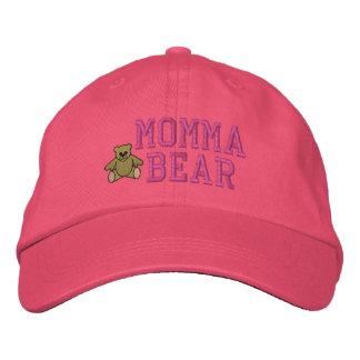 Boné Chapéu bordado urso de Momma das mães