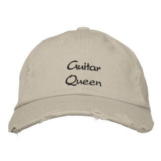 Boné/chapéu bordados costume da rainha da guitarra boné bordado