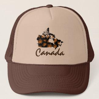 Boné Chapéu canadense da folha de Canadá do bordo do
