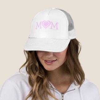 Boné Chapéu cor-de-rosa da mamã do dia das mães dos