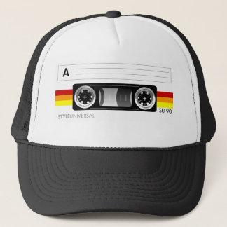 Boné Chapéu da etiqueta da cassete de banda magnética