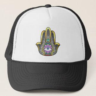 Boné chapéu da mão do hamsa